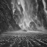 Milford Sound Waterfalls Photographic Print by Yan Zhang