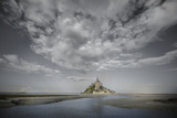 Mont Saint Michel Colorblend Photographic Print by Philippe Manguin