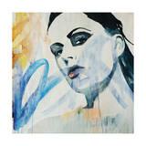 Graffiti Girl Giclee Print by Clayton Rabo