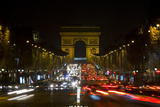 Champs Elysees Photographic Print by Art Wolfe