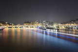 Paris from Pont des Arts Reproduction photographique par Philippe Manguin