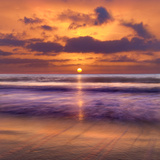 Dawn Over The Sea Photographic Print by Adrian Campfield