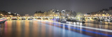 Pont des Arts - panoramic Photographic Print by Philippe Manguin