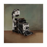 Vintage Classics II - camera Giclee Print by Sydney Edmunds