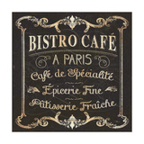 Parisian Signs Square II Giclee Print by  Pela