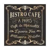 Parisian Signs Square II Giclee Print by  Pela