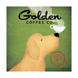 Golden Coffee Co. Poster by Ryan Fowler