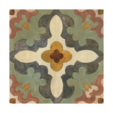 Andalucia Tiles B Color Art by Silvia Vassileva