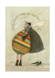 Remembering When We First Met Giclee Print by Sam Toft