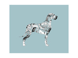 Great Dane Wydruk giclee autor Louise Tate