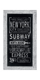 Rapid Transit Lines New York Giclee Print by Barry Goodman