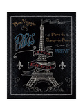 Travel to Paris I Art by Daphne Brissonnet