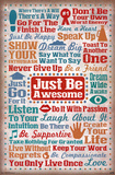 Just Be Awesome Affiches