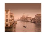 Canal Grande, Venice Giclee Print by Rod Edwards