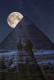 The Dark Side of the Pyramid Fotografie-Druck von Marco Carmassi