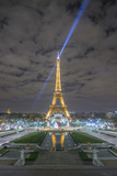 Eiffel Tower -View from the Trocadero Reproduction photographique par Philippe Manguin