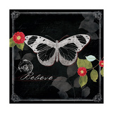 Chalkboard Wings II Giclee Print by Katie Pertiet