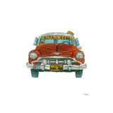 Cuban Tax Giclee Print by Barry Goodman