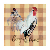 Coq Blanc Prints by Marilyn Hageman
