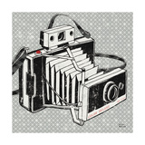 Vintage Analog Camera Poster by Michael Mullan