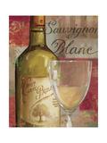 Vin Abstrait II Premium Giclee Print by Lisa Audit
