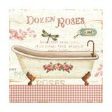 Rose Garden IV Sq Giclee Print by Lisa Audit