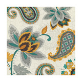 Decorative Nature II Turquoise Cream Posters by  Pela