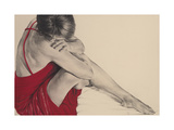 Red III Giclee Print by Trudy Good