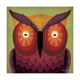 Owl Wow Giclee Print by Ryan Fowler
