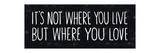 Its Where You Love プレミアムジクレープリント : マイケル・ミューラン