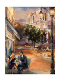 Twilight Time in Paris Premium Giclee Print by Marilyn Hageman