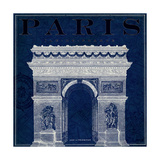 Blueprint Arc de Triomphe Posters by Sue Schlabach