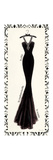Couture Noir Original III Premium Giclee Print by Emily Adams