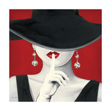 Haute Chapeau Rouge I Plakaty autor Marco Fabiano