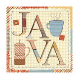 Patchwork Cafe II Giclee Print by  Pela