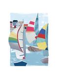 Summer Sail II Prints by Kate Rowley