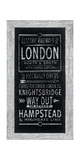 Electric Railways of London Giclee Print by Barry Goodman
