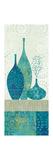 Blue Spice Stripe Panel II Premium Giclee Print by Hugo Wild