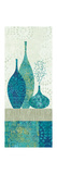 Blue Spice Stripe Panel II Giclee Print by Wild Apple Portfolio