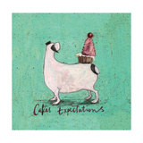 Cakes Expectations Giclee Print by Sam Toft
