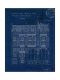 Quai Henri Blueprint I Reproduction procédé giclée par Hugo Wild