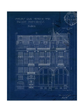 Quai Henri Blueprint I Posters by Hugo Wild