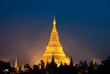 Myanmar Temple Lights-2 Photographic Print by Art Wolfe