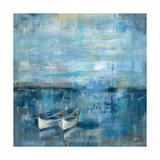 Dos barcos Arte por Silvia Vassileva