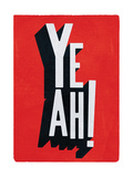 Yeah Giclee Print by Edu Barba