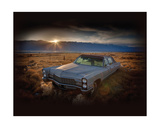 Keeler, California Giclee Print by Rod Edwards