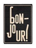 Bonjour Giclee Print by Edu Barba