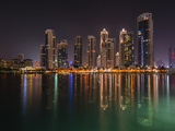 Dubai by Night Photographic Print by Marco Carmassi