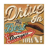 Diners and Drive Ins I Posters by  Pela