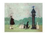 An Audience with Sweetheart Giclee Print by Sam Toft
